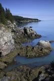 Oceanside cliffs, Coastal Trail, Cutler Public Lands, Cutler, Maine